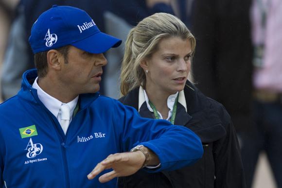 Athina Onassis y Doda Miranda, los más esperados en el torneo hípico de Río de Janeiro