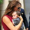 Juntas en la Gran Manzana: la pequeña Harper acompaña a su mamá, Victoria Beckham, en su regreso al trabajo