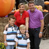 Coral Bistuer celebra en familia el cumpleaños de su hijo mayor, Ignacio