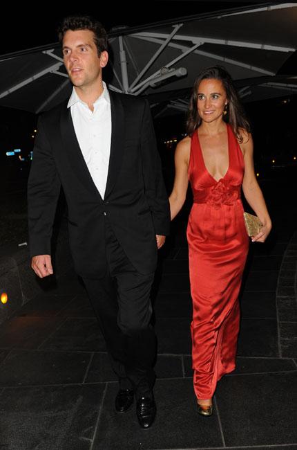 Pippa Middleton y su novio, Alex Loudon, protagonistas de una gala benéfica en Londres