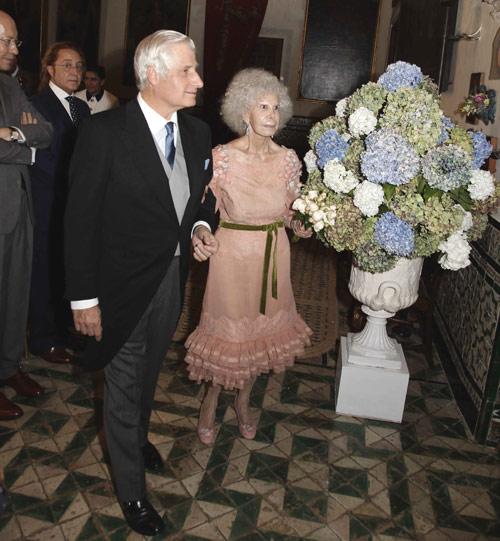 La duquesa de Alba y Alfonso Diez ya son marido y mujer