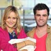 Fonsi Nieto y Alba Carrillo vuelven a casa con su hijo, Lucas, en brazos