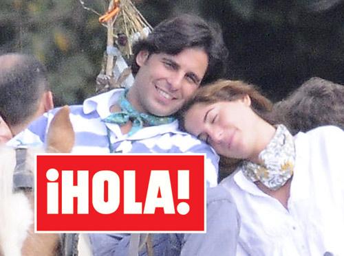 En ¡HOLA!: Francisco Rivera y Lourdes Montes, la imagen de la felicidad en El Rocío