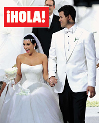 Vestidos de novia que uso kim kardashian