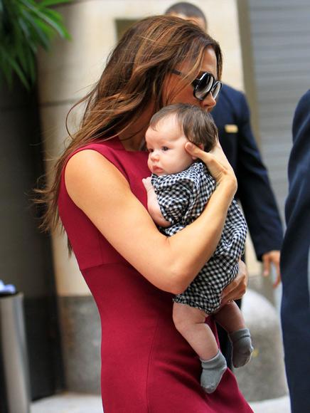 David Beckham: 'Su manera de sonreír, sus gestos... Harper es idéntica a Victoria'