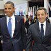 Nicolás Sarkozy bromea con Obama sobre su reciente paternidad: 'Afortunadamente, la niña ha salido físicamente a su madre'
