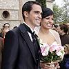 El ciclista Alberto Contador se casa con Macarena, su novia de toda la vida