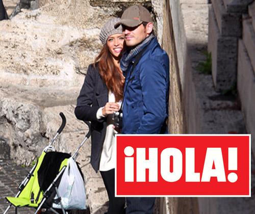 Exclusiva en ¡HOLA!: Iker y Sara, dos enamorados en Roma
