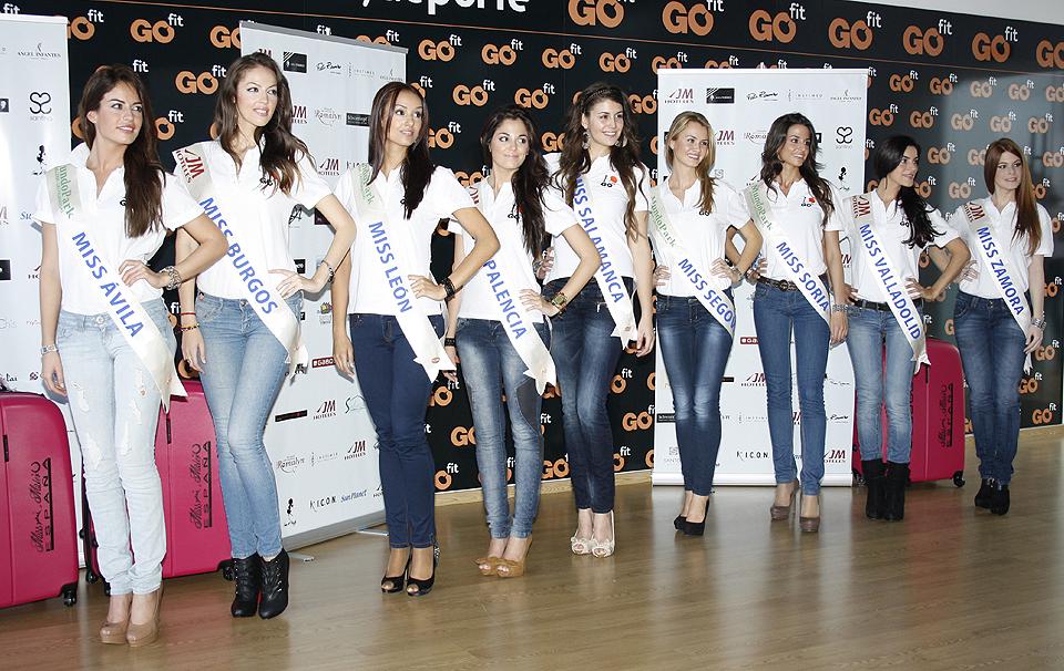 Miss Ávila, Miss Burgos, Miss León, Miss Palencia, Miss Salamanca, Miss Segovia, Miss Soria, Miss Valladolid y Miss Zamora