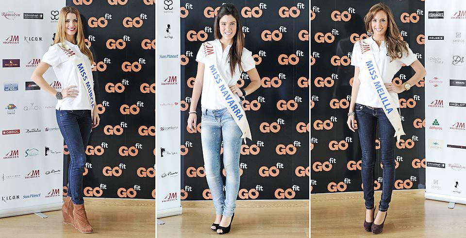 Miss Murcia, Miss Navarra y Miss Melilla