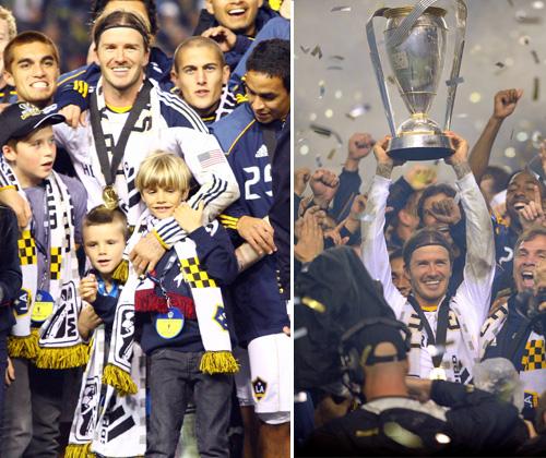 David Beckham vive una noche 'made in Hollywood' mientras baraja la posibilidad de mudarse junto a su familia a París