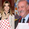 Arantxa de Benito, una camarera 'muy flamenca' y Vicente del Bosque, un seleccionador campeón del mundo, 'arriman el hombro' en el rastrillo Nuevo Futuro
