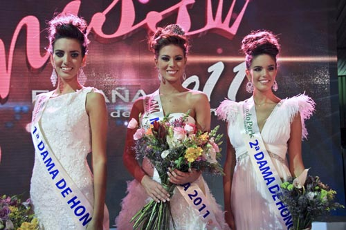 Miss Barcelona, Andrea Huisgen, coronada como Miss España 2011