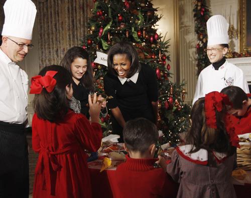 La casa blanca se viste de navidad - La casa de la navidad ...