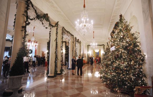 El Primer Rbol De Navidad As Han Decorado Los Obama La Casa