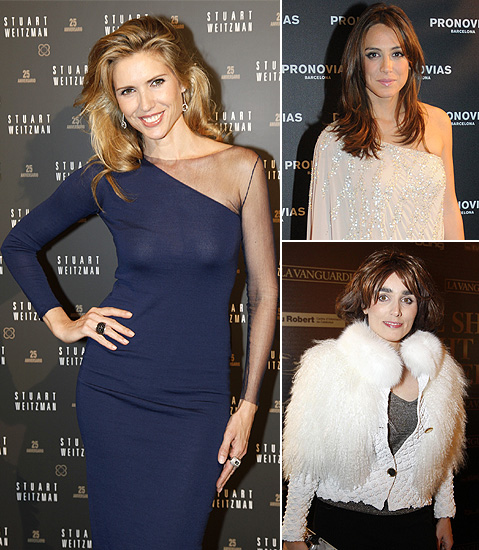 Tamara Falcó, Judit Mascó, Paloma Segrelles... las verdaderas 'estrellas' en la noche de la moda de Barcelona