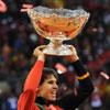 Rafa Nadal consigue la quinta Copa Davis para España en un partido de infarto presidido por el Rey Juan Carlos