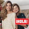 En ¡HOLA!: Carla Goyanes, embarazada, nos recibe junto a su madre en su nueva casa de Miami