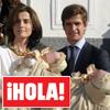 En la revista ¡HOLA!: El bautizo de los mellizos de Julián López, El Juli, y Rosario Domecq en su casa de Extremadura