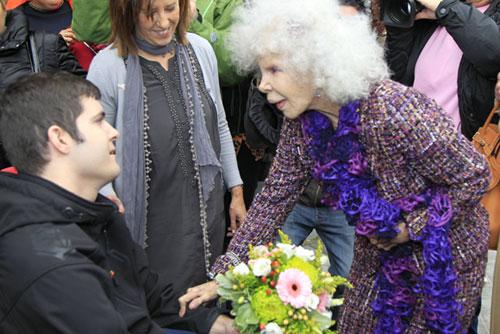 La duquesa de Alba recibe un premio en Toledo por su 'coraje ante las adversidades'