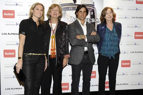 Rafa Nadal, Bertín Osborne, Carmen Lomana... la estrella de la solidaridad brilla en Navidad