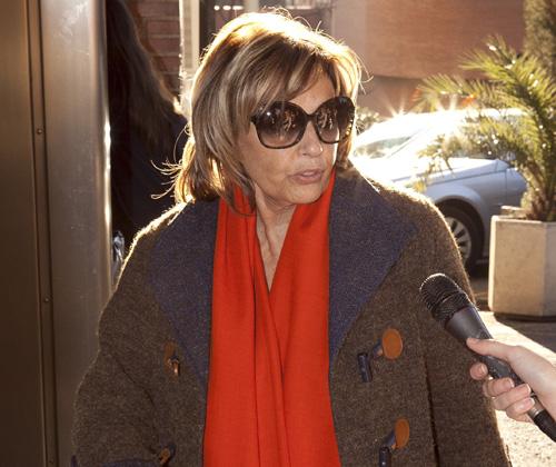 Terelu Campos recibe el alta hospitalaria: 'Estoy muy contenta y tengo que dar las gracias porque me he sentido muy querida'