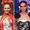 Eva González saca su lado más divertido y flamenco sobre la pasarela