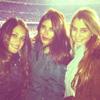 Antonella Rocuzzo, Daniella Semaan y Julia Vigas, las otras 'novias' del Barça