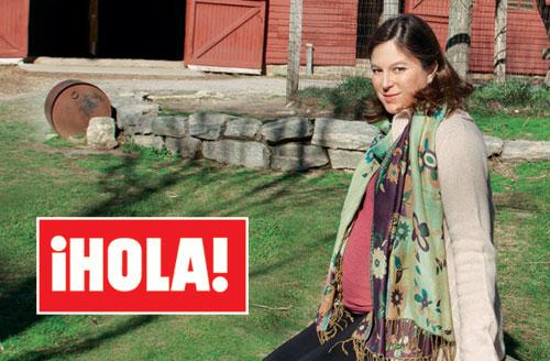 Chábeli Iglesias anuncia en la revista ¡HOLA! que ha sido madre de una niña tras un embarazo en secreto: 'Se llama Sofía y es un sueño hecho realidad'