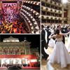 El lujo, el glamour y la distinción de la gala inaugural de la Ópera de Viena... ¿Me concede este baile?