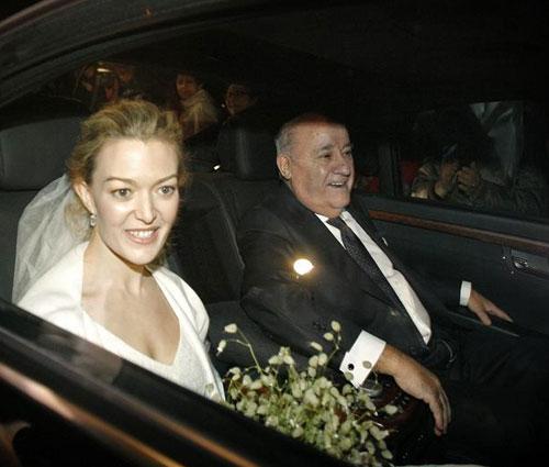 La boda de Marta Ortega y Sergio Álvarez
