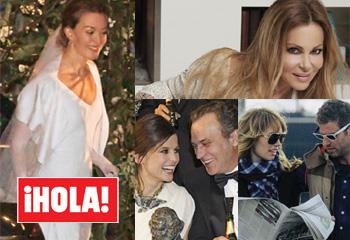 La revista ¡HOLA! desvela la única foto del vestido de novia de cuerpo entero de Marta Ortega
