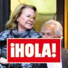 En ¡HOLA!: Sebastián Palomo Linares fotografiado junto a una atractiva acompañante