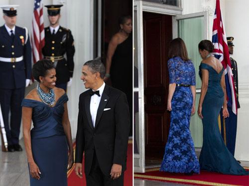 La Casa Blanca se viste de gala para agasajar a David y Samantha Cameron