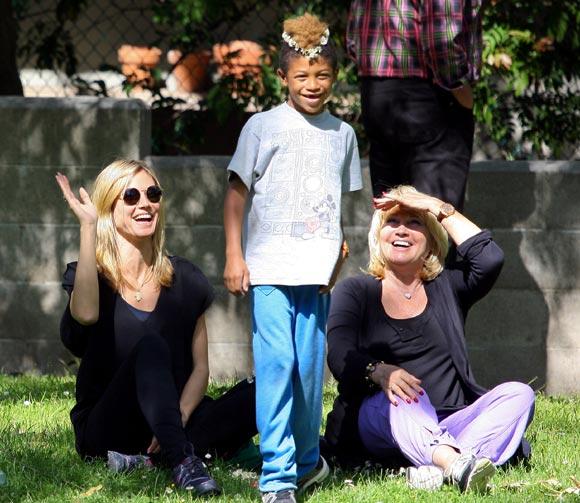 Heidi Klum y Seal, vidas separadas pero siempre volcados en sus hijos