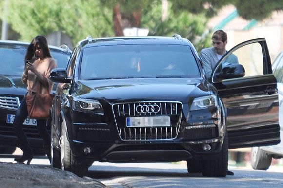 Iker Casillas y Sara Carbonero, tarde de domingo para dos