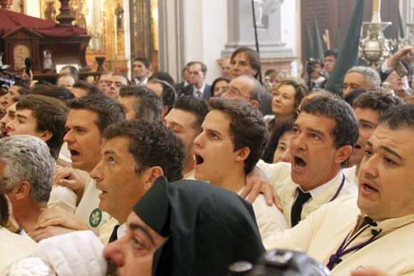 Antonio Banderas, Carmen Thyssen, María Teresa y Terelu Campos, Carmen Lomana... viven con 'pasión' la Semana Santa