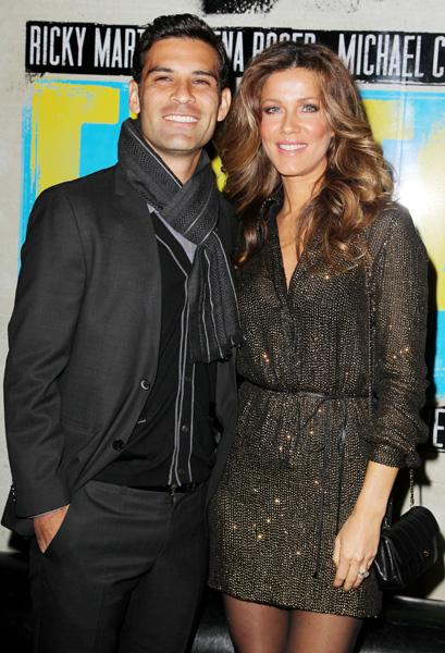 Jaydy Michel y Rafa Márquez apoyan a Ricky Martin en el estreno del musical 'Evita'