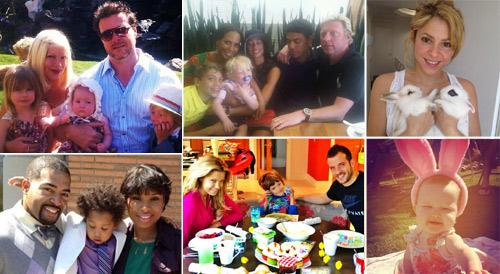 Gisele Bündchen, Shakira, Tori Spelling, Boris Becker... las 'celebrities' nos felicitan la Pascua en las redes sociales