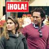 En ¡HOLA!: Álvaro Fuster y Beatriz Mira visitan varias tiendas premamá en Londres