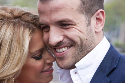 Rafael y Sylvie van der Vaart, cuando en el amor sobran las palabras