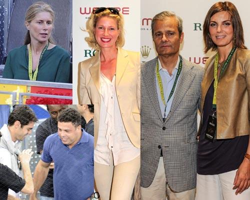 Mar Flores, Boris Becker, la duquesa de Alba, Ronaldo, Anne Igartiburu… todos van al tenis