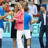 La infanta Elena, Will Smith y alguna pareja sorpresa ponen en la final del Open de Madrid