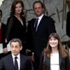 Au revoir! Nicolás Sarkozy y Carla Bruni abandonan el Elíseo