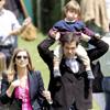 Luis Alfonso de Borbón y Margarita Vargas recuperan la sonrisa gracias a sus hijos
