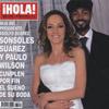 Esta semana en ¡HOLA!: Sonsoles Suárez y Paulo Wilson cumplen por fin el sueño de su boda
