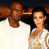 Kim Kardashian, vestida para impresionar, junto a Kanye West en Cannes