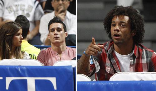 Nieves Álvares, Luis Medina, Úrsula Corberó, Ariadne Artiles... se aficionan al baloncesto