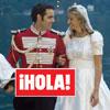 En ¡HOLA!: Elegante y aristocrática boda de la princesa Fabrizia Ruffo di Calabria con Borja Benjumea de Soto, en el lago Como