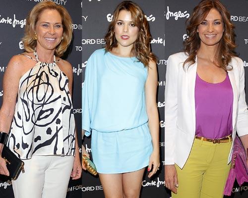 Goya Toledo, Sebastián Palomo Danko, Adriana Ugarte... cita de guapos entre perfumes y cosméticos